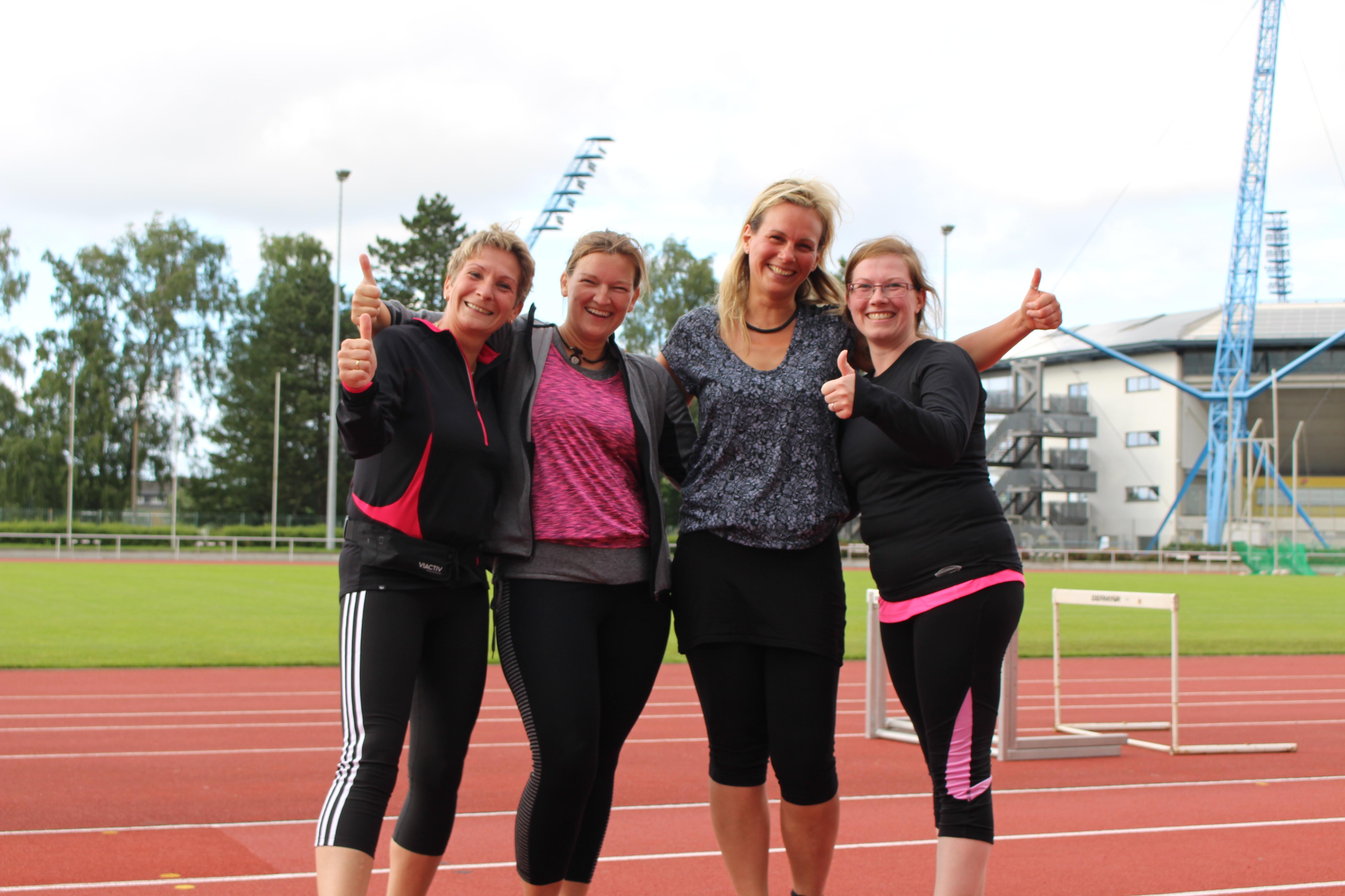 Laufkurs für den 15. Rostocker Frauenlauf