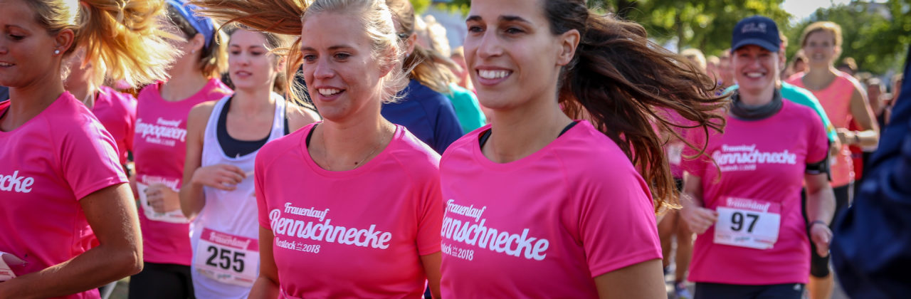 Laufkurs für den 17. Rostocker Frauenlauf 2019